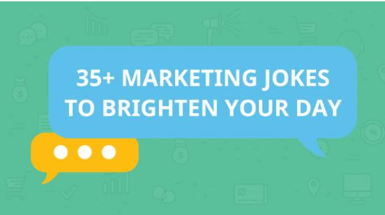 35 Marketing Jokes