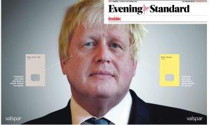 Boris Johnson in Evening Standard Caspia Judging