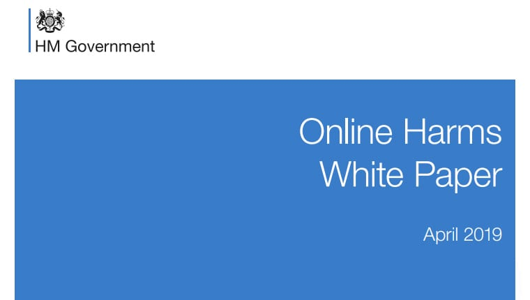 Online harms white paper, social media marketing