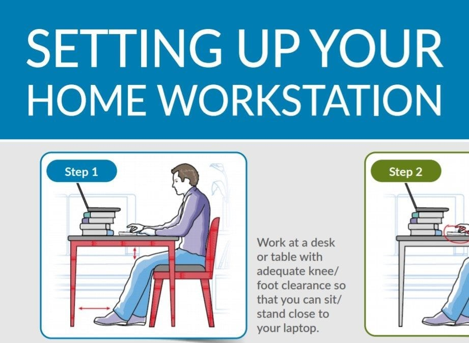 Working at Home – Some Tips on Setting Up
