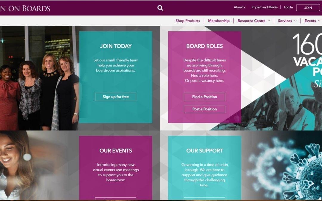 NED jobs at Women on Boards, www.womenonboards.net
