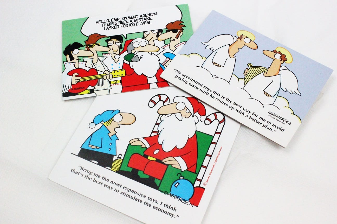 Christmas cards for Carbon Accountancy by Caspia Consultancy