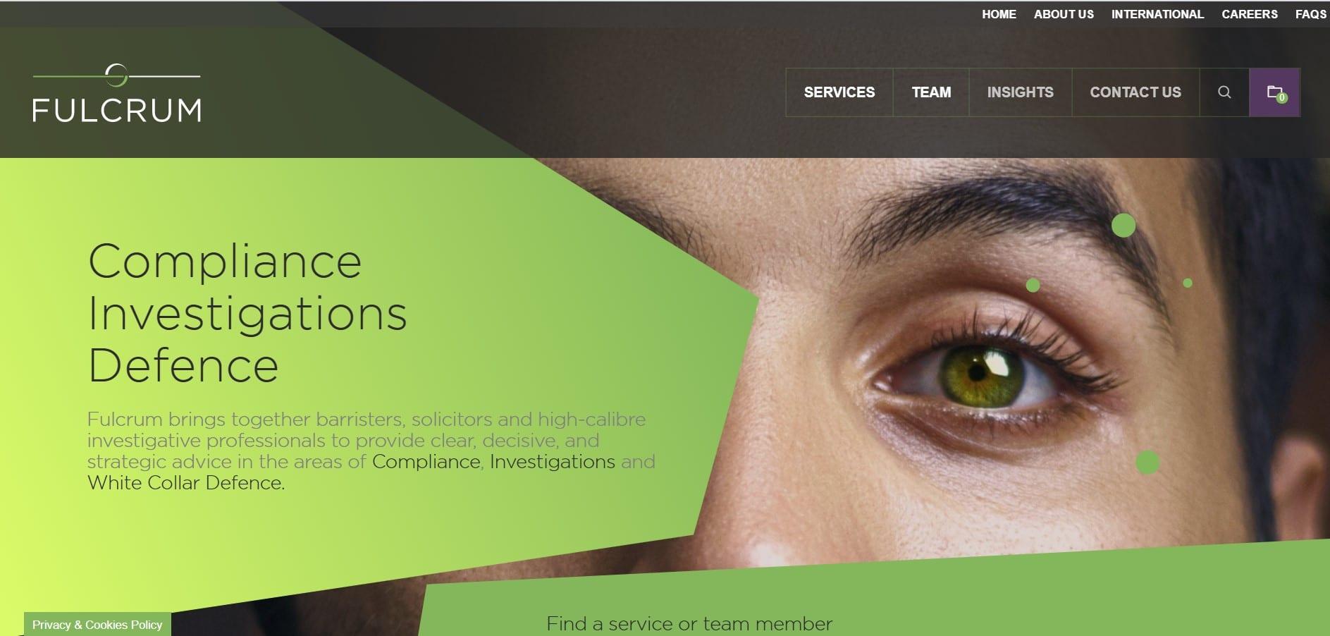 Fulcrum website