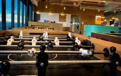 Company culture is not a foosball table.